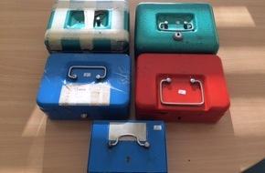 Kreispolizeibehörde Ennepe-Ruhr-Kreis: POL-EN: Herdecke - Polizei sucht Eigentümer von fünf aufgefundenen Geldkassetten