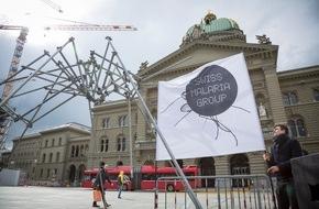 Swiss Malaria Group: Bern, die Hauptstadt des Welt-Malaria-Tages / Am Welt-Malaria-Tag bekräftigt die Schweiz ihre Führungsrolle Malaria bis 2030 zu beenden (FOTO)