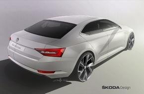 Skoda Auto Deutschland GmbH: Design-Revolution: Der neue SKODA Superb