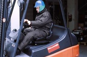 Berufsgenossenschaft der Bauwirtschaft: Bauarbeit im Winter - Sicher Arbeiten bei Kälte, Eis und Schnee