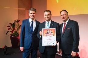 AHGZ: Benedikt Rudolph ist Deutschlands bester Nachwuchs-Hotelier (FOTO)