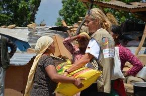 """Aktion Deutschland Hilft e.V: Trotz Auflage durch Nepals Regierung können Spendengelder von """"Aktion Deutschland Hilft"""" direkt eingesetzt werden / Allerdings Probleme bei Materialbeschaffung / Spendenstand: 8,6 Millionen Euro"""