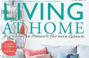 Gruner+Jahr, LIVING AT HOME: Helle Wandfarben vergrößern kleine Räume