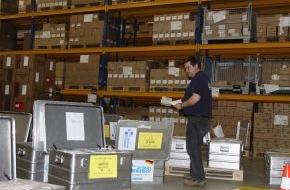 action medeor: Hilfe für die Philippinen: medeor packt Medikamente