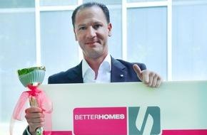 Betterhomes AG: BETTERHOMES Schweiz feiert die 10'000ste Vermittlung nach 10 Jahren (FOTO)