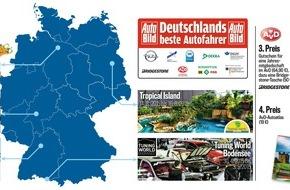 """AUTO BILD: Ende der Vorrunde eingeläutet: """"Deutschlands beste Autofahrer"""" gehen in Frankfurt an den Start"""