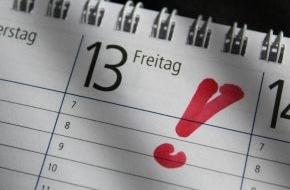 Zurich Gruppe Deutschland: Keine Panik: Freitag, der 13. ist kein Unglückstag