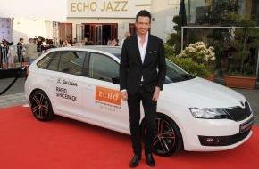 Skoda Auto Deutschland GmbH: SKODA fuhr die Stars zum ECHO Jazz 2014
