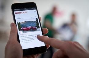 news aktuell (Schweiz) AG: PR-Inhalte immer und überall: Neue Version von Presseportal.ch für Smartphones ist online