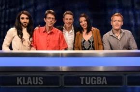 """ARD Das Erste: Das Erste: """"Gefragt - Gejagt"""": Mit Conchita, ohne Wurst"""