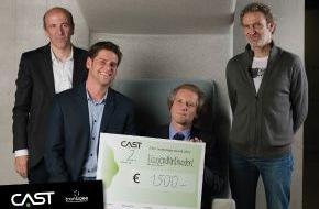 MCI Management Center Innsbruck: MCI Forscherteam erringt 2. Platz beim CAST Technology Award