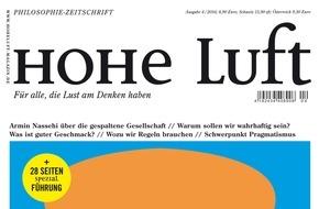 """Hohe Luft Magazin: Maria Schrader: """"Das Wort 'Heimat' kommt mir nicht über die Lippen"""""""