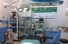 Islamic Relief Deutschland e.V.: Syrien: Menschenwürdige Krankenversorgung in einem menschenverachtenden Krieg