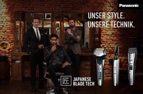 Panasonic präsentiert mit neuer Barber Shop-Kampagne ab sofort das Sortiment der Männerpflege unter einem Dach