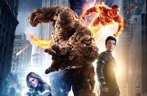 Constantin Film: VIER GEWINNT! / Neues Superhelden-Kino mit FANTASTIC FOUR