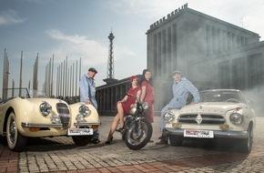 Messe Berlin GmbH: MOTORWORLD Classics Berlin: DER neue Hot Spot für die Oldtimer-Szene