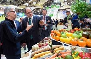 """Messe Berlin GmbH: Grüne Woche 2016: Sonderschau des Bundesministeriums für Ernährung und Landwirtschaft macht """"Fit für die Zukunft"""""""