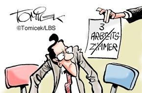 Bundesgeschäftsstelle Landesbausparkassen (LBS): Arbeitszimmer mal drei / Steuerzahler scheiterte mit dem Wunsch nach mehrfacher Anerkennung