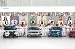 Skoda Auto Deutschland GmbH: SKODA produziert 17-millionstes Fahrzeug