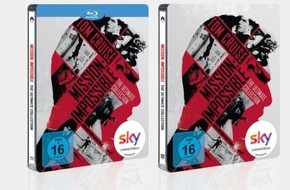 "Sky Deutschland: Exklusiv für Sky Kunden: ""Mission: Impossible - The Ultimate Collection"" als exklusives Steelbook im Blu-Ray- oder DVD-Boxset (FOTO)"