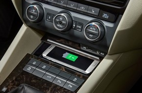 Skoda Auto Deutschland GmbH: Neuer SKODA Superb mit aufgewerteter Ausstattung und neuen Technik-Highlights