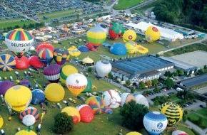 Warsteiner Brauerei: Ballonspektakel startet im Sauerland / Mit mehr als 200 Pilotenteams aus 13 Ländern und bis zu 200.000 Besuchern beginnt in der kommenden Woche die Warsteiner Internationale Montgolfiade (WIM) (mit Bild)