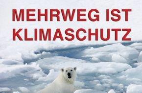 """Deutsche Umwelthilfe e.V.: Aktion """"Mehrweg ist Klimaschutz"""" mit Rekordbeteiligung"""