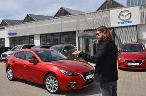 Mazda: Exklusive Momente mit Mazda,Rea Garvey und Samu Haber