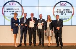 Continentale Krankenversicherung a.G.: Continentale Versicherungsverbund: Zweifache Auszeichnung mit dem Deutschen Fairness-Preis 2015