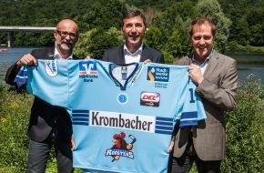 Krombacher Brauerei GmbH & Co.: Krombacher wird neuer Hauptsponsor bei den Iserlohn Roosters