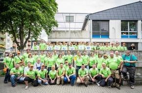 AbbVie Deutschland GmbH & Co KG: Helfende Hände: AbbVie-Mitarbeiter packen an