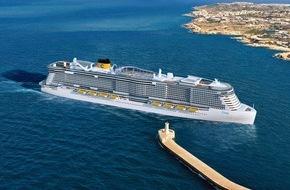 Costa Kreuzfahrten: Costa Crociere erhält zwei neue Kreuzfahrtschiffe - herausragend in Größe und Umweltfreundlichkeit