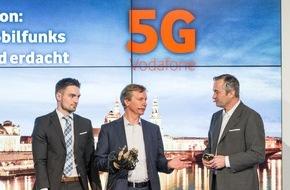 Vodafone GmbH: 5G: Vom Millimeter-Netz zur ersten großen Funkstrecke