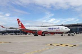 Air Berlin PLC: airberlin ist oneworld Mitglied