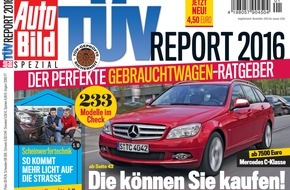 TÜV SÜD AG: TÜV SÜD: Klares Signal für immer sicherere Autos