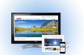 Olympia-Verlag GmbH: Die schönsten Seiten der Berge im Web / Neuer Internetauftritt von ALPIN.DE