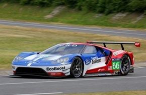 Ford-Werke GmbH: Ford GT startet 2016 bei den 24 Stunden von Le Mans - genau 50 Jahre nach dem historischen Dreifachsieg