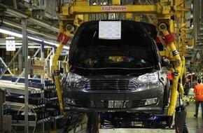 Ford-Werke GmbH: Ford startet die Serienproduktion des neuen Ford C-MAX