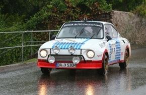 Skoda Auto Deutschland GmbH: SKODA beim Eifel Rallye Festival mit raren Gruppe-B-Boliden und weiteren heißen Rallye-Klassikern
