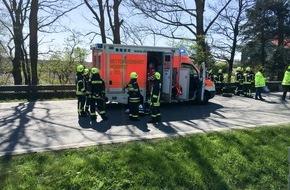 Rettungsdienst-Kooperation in Schleswig-Holstein gGmbH: RKiSH: Schwerer Frontalzusammenstoß auf der B 203 bei Gaushorn