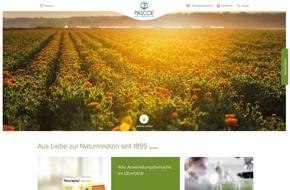 Pascoe Naturmedizin: Naturmedizin erleben, Gesundheit spüren: Frischekick für Pascoe.de / Tradition im Herzen und Innovation im Blick verbinden sich im virtuellen Auftritt: Ein Ausdruck der Unternehmensphilosophie