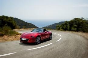 Mazda (Suisse) SA: La toute nouvelle Mazda MX-5 remporte le Prix mondial de la Voiture de l'année 2016 et le Prix de la Conception automobile de l'année  Première voiture à remporter les deux prix simultanément