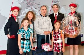 Air Berlin PLC: airberlin begrüßt den dreimillionsten topbonus Teilnehmer / Gewinnspiele für alle Vielflieger