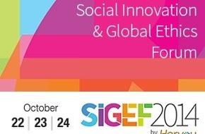 Horyou: Le Forum De l'Innovation Sociale Et De l'Ethique Globale (SIGEF 2014) Ouvre Ses Portes