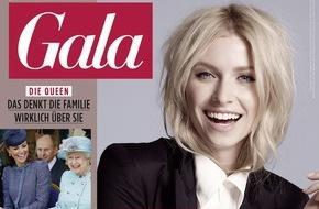 Gruner+Jahr, Gala: GALAerstrahltnach Rebrushin neuem Glanz / Das People- und Lifestyle-Magazinerscheint von heute an imneuen Look, mit neuem Logo und mit neuen Rubriken