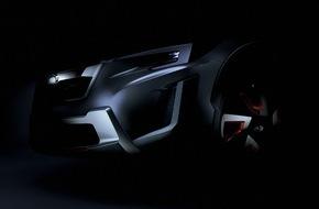 Subaru: Weltpremiere für Subaru XV Concept auf dem Genfer Autosalon 2016