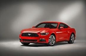 Ford-Werke GmbH: Der neue Ford Mustang feiert auf der Essen Motor Show seine Deutschlandpremiere (FOTO)