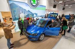Skoda Auto Deutschland GmbH: Bühne frei für den neuen SKODA Fabia (FOTO)