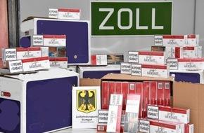 Zollfahndungsamt Stuttgart: ZOLL-S: 62.100 unversteuerte Zigaretten bei bundesweiten Durchsuchungen aufgefunden
