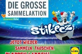 LIDL: Fußballfieber - Anpfiff für die Stikeez bei Lidl / Sammeln, tauschen, ploppen lassen: Am 30. Mai startet wieder die Stikeez-Sammelaktion - dieses Mal im Fußball-Look